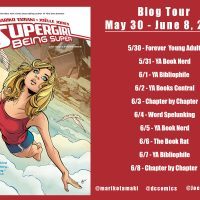 Blog Tour: Supergirl: Being Super – Author Q+A